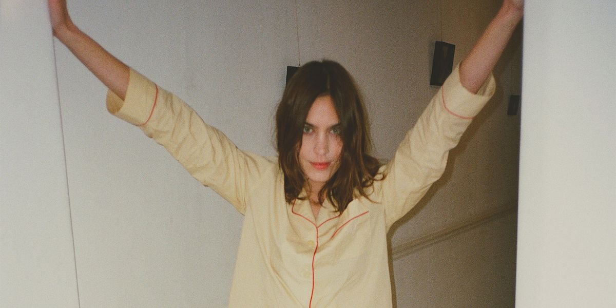 Alexa Chung Designed Pajamas You'll Want To Wear Outside