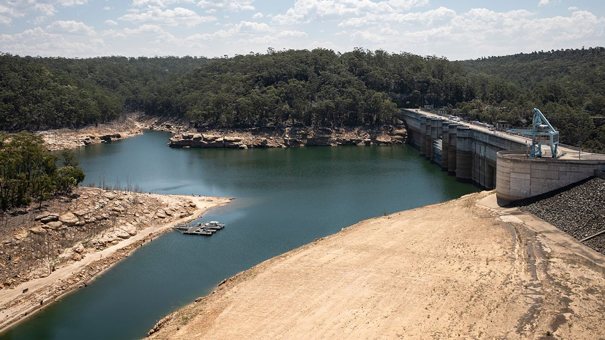 Sydney Is Running out of Water as Bushfires Rage