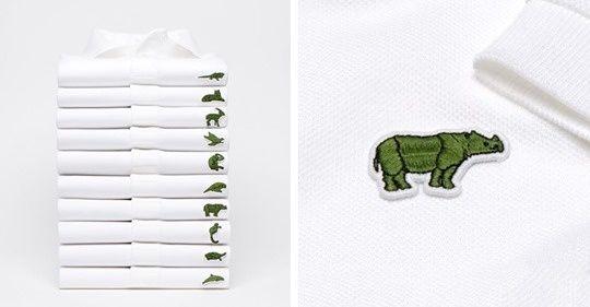 lacoste t shirt animals