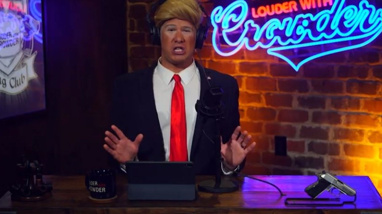 Louder With Crowder: Donald Trump takeover