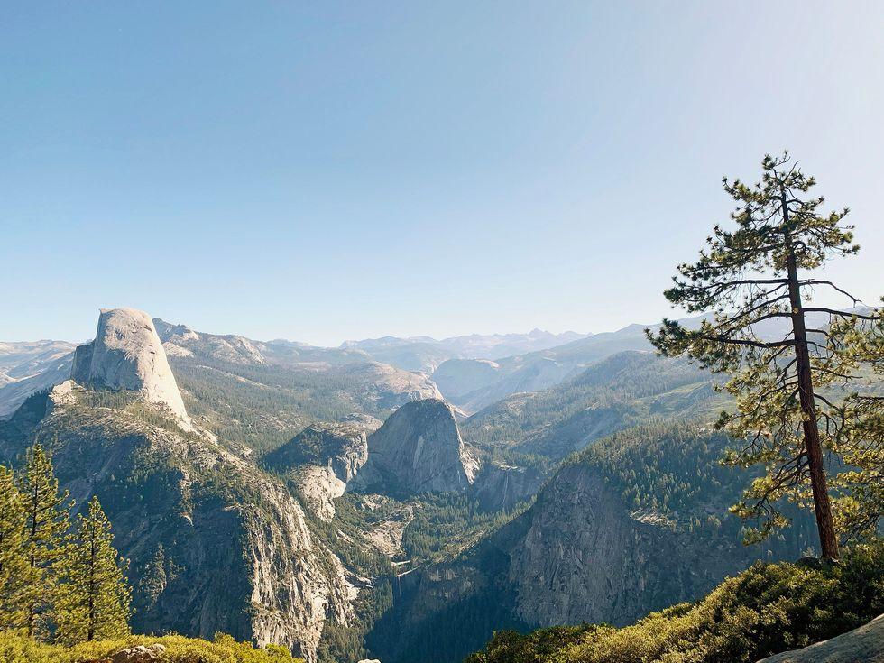Yosemite National Park Washburn Point view