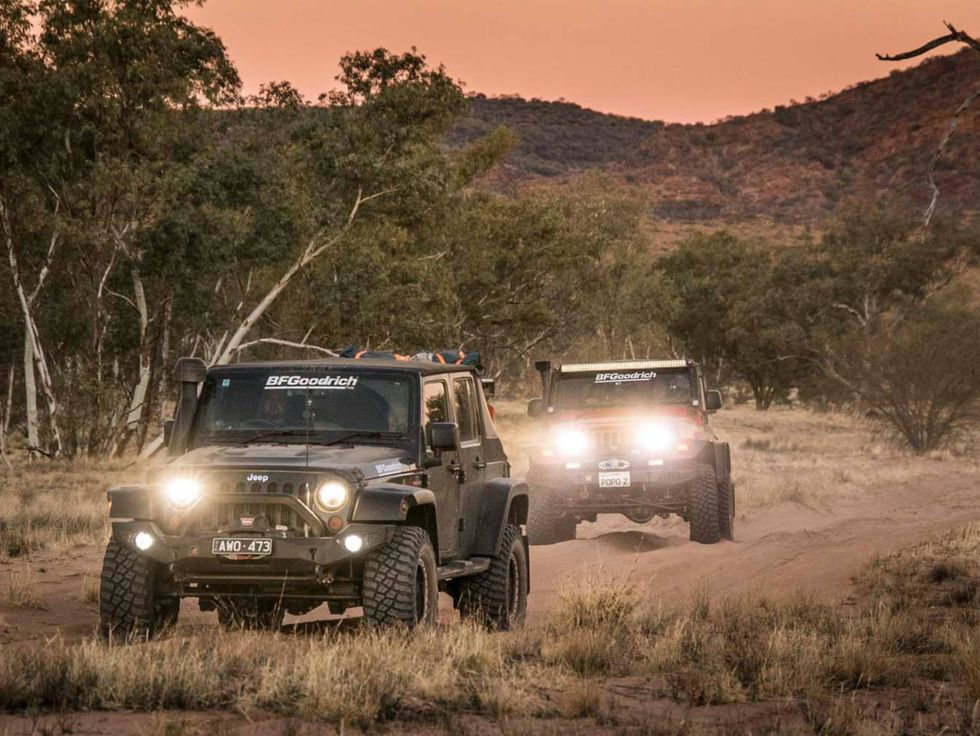 Jeep Outback Australia East West Expedition Simpson Desert 2019