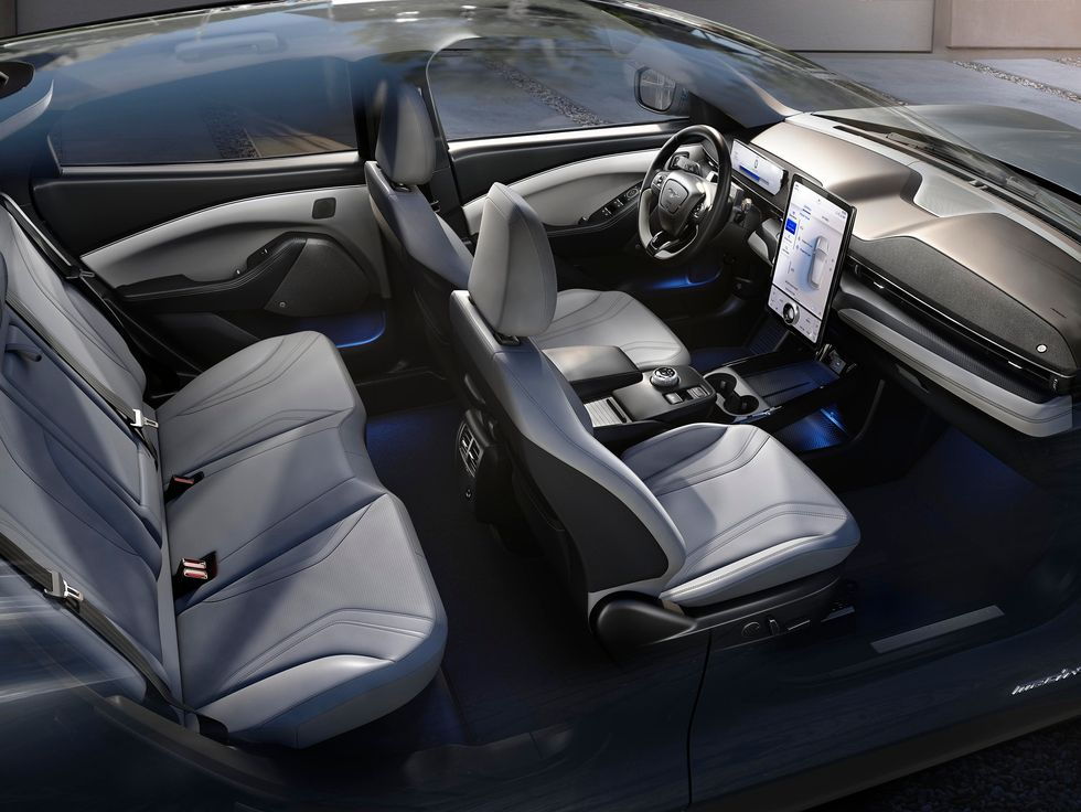 2021 Ford Mustang Mach-E interior seats cabin