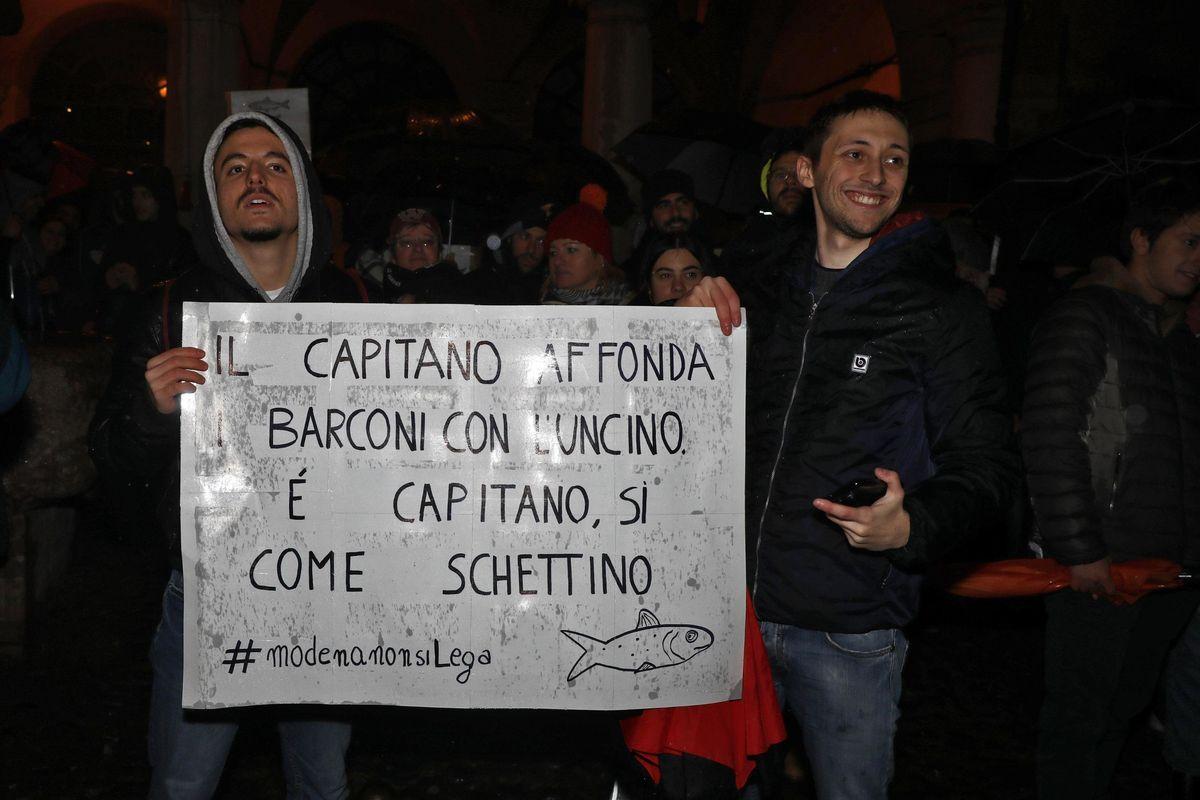 La sardina democratica vuole Salvini morto