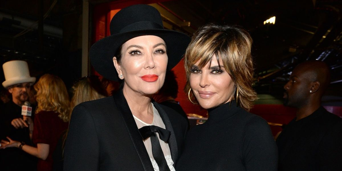 Kris Jenner and Lisa Rinna Filmed A '90s-Style Infomercial For Kim Kardashian's Skims