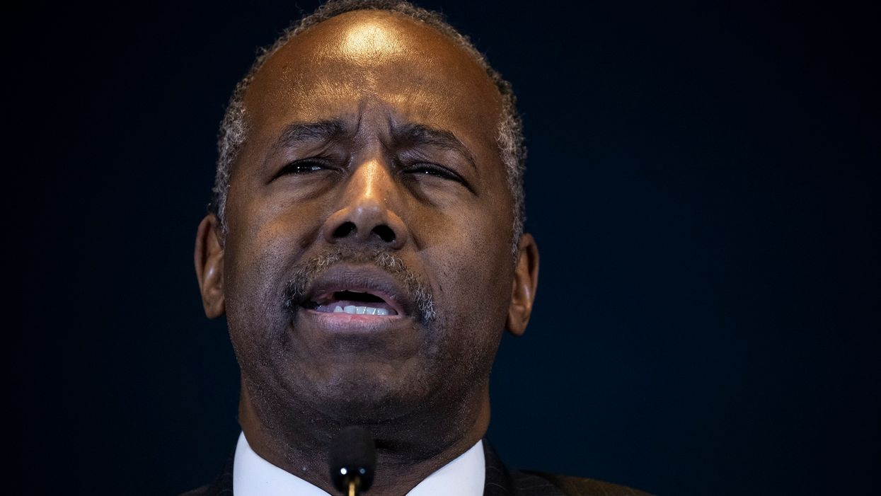 Ben Carson scolds Maxine Waters: 'Basic manners elude you'