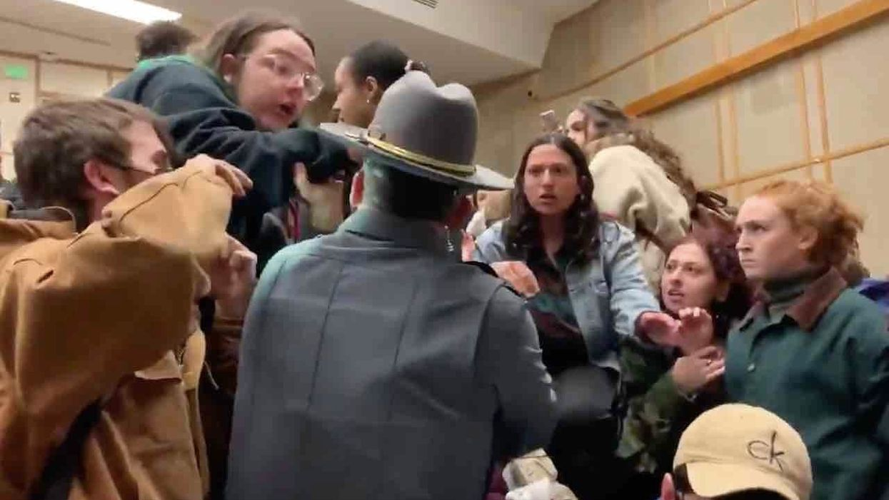 'I'm disgusted': Lawmakers blast 'chaos' on college campus as 'leftist mob' defies police, shuts down conservative event