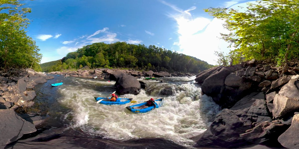 360 degrees of the Cheat River: A journey to revitalization on an Ohio River tributary