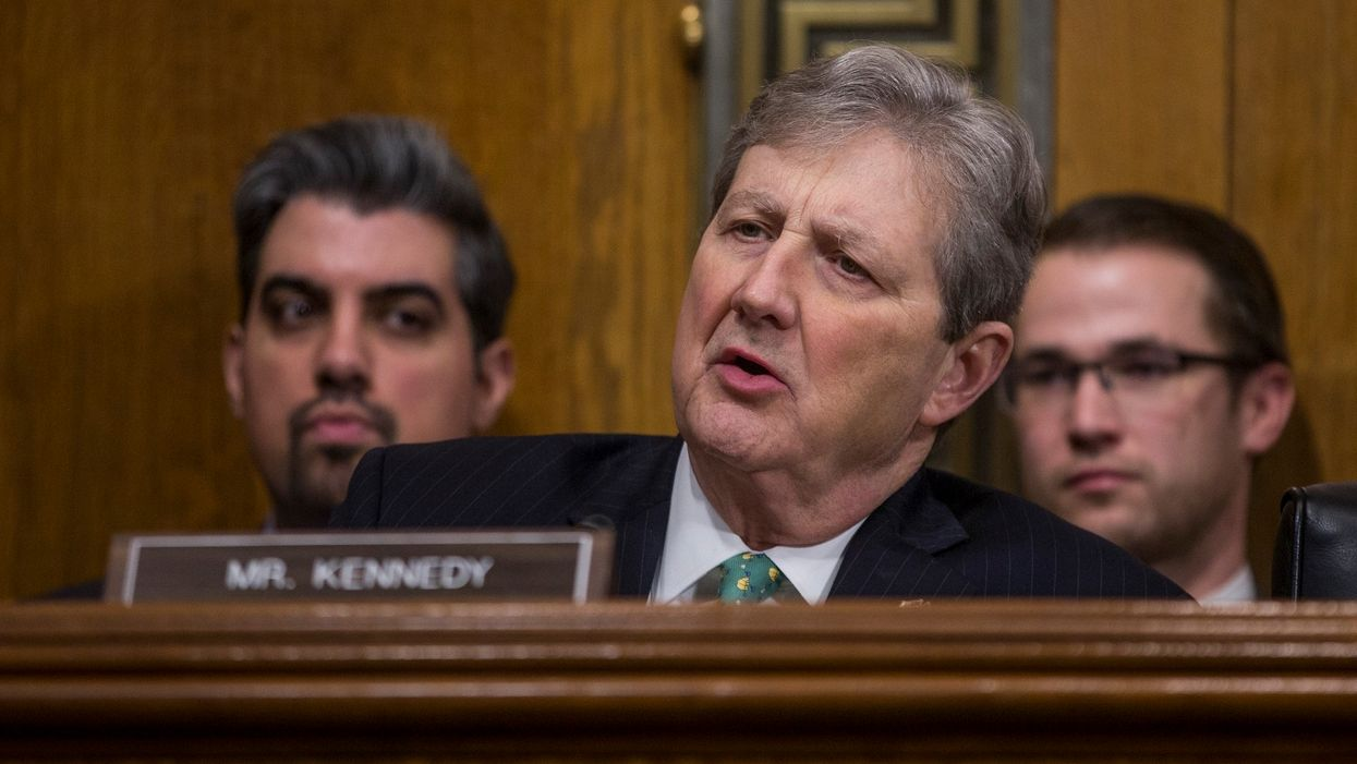 'Christmas ornaments, drywall, and Jeffrey Epstein...three things that don't hang themselves': Sen. John Kennedy demands answers