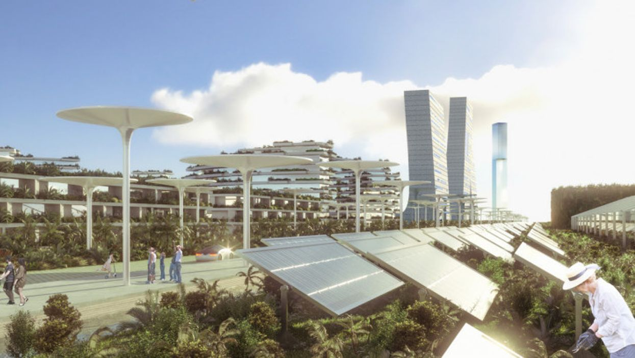 Mexican 'smart city' would be 100% energy efficient, self-sustaining