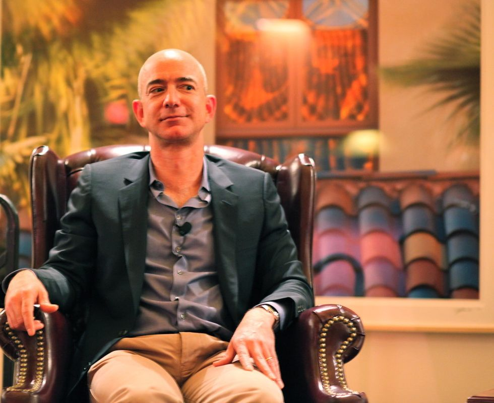 What .00002% Of Jeff Bezos' Net Worth Could Buy Me