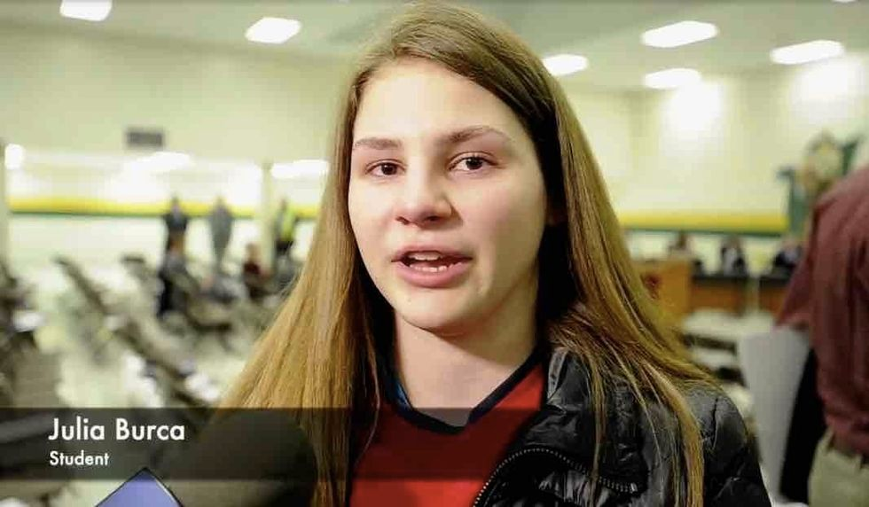 HS girl swimmer near tears after transgenders get 'unrestricted' access to locker room where she changes 'multiple times, naked' in front of others