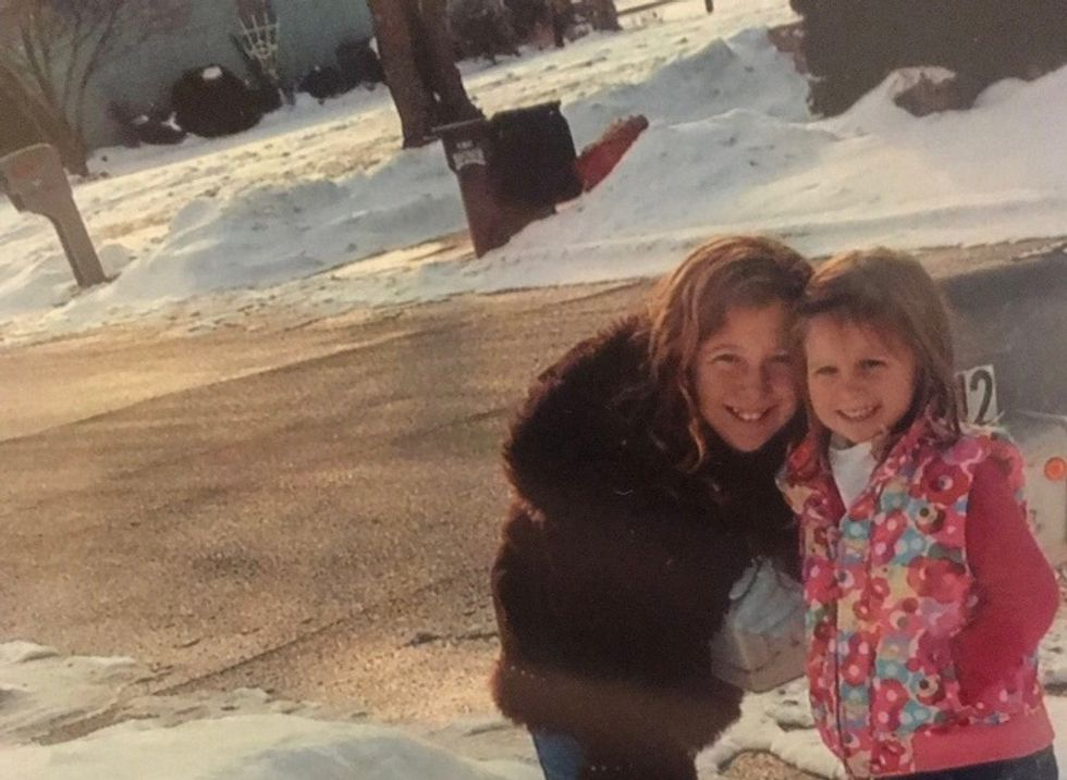 An Open Letter To My Older Sister
