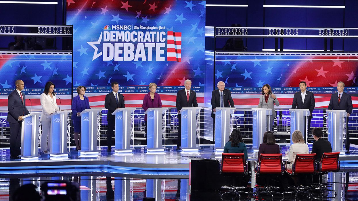 Moderators Ask Only One Climate Question at Fifth Democratic Debate
