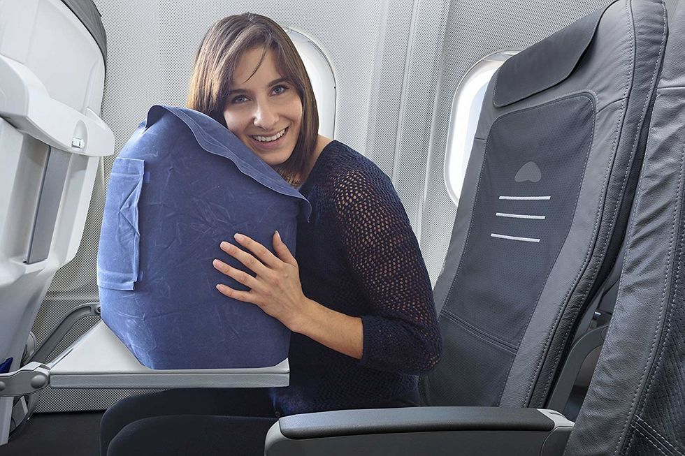 Inflatable Wedge Pillow for Travel