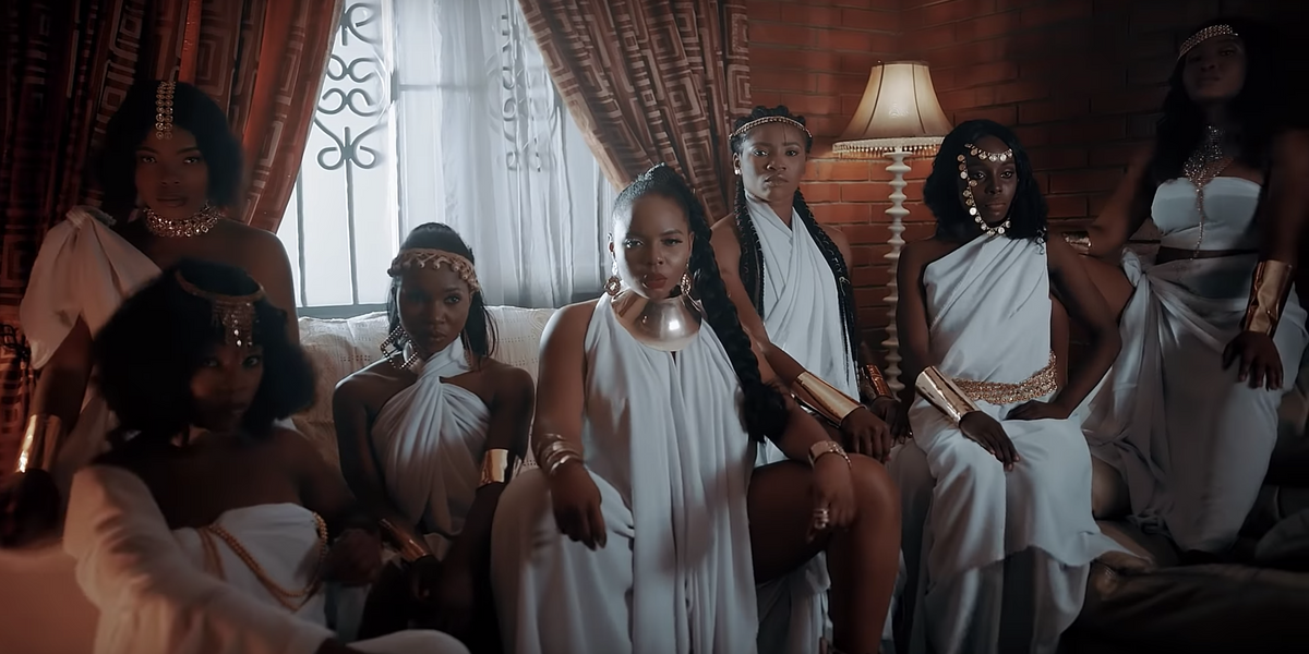 Watch Yemi Alade's New Music Video for 'Shake' Featuring Duncan Mighty