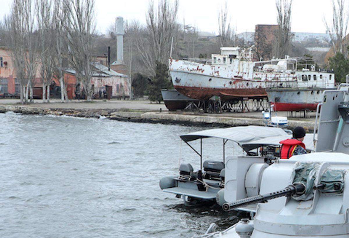Russia removed the toilets from captured Ukrainian navy ships before returning them