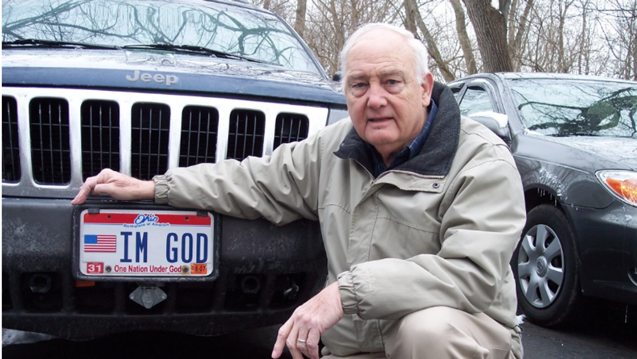 U.S. court approval of 'IM GOD' license plate is a victory for atheists