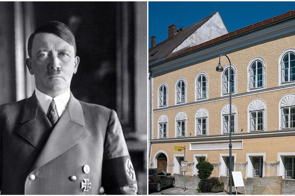 Austria is so sick of Nazis visiting Hitler's birthplace they're turning it into a police station