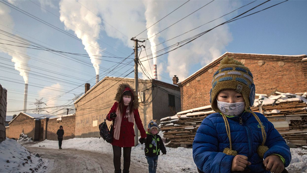 'Sheer Madness': Coal Surges in China, Threatening Paris Climate Targets