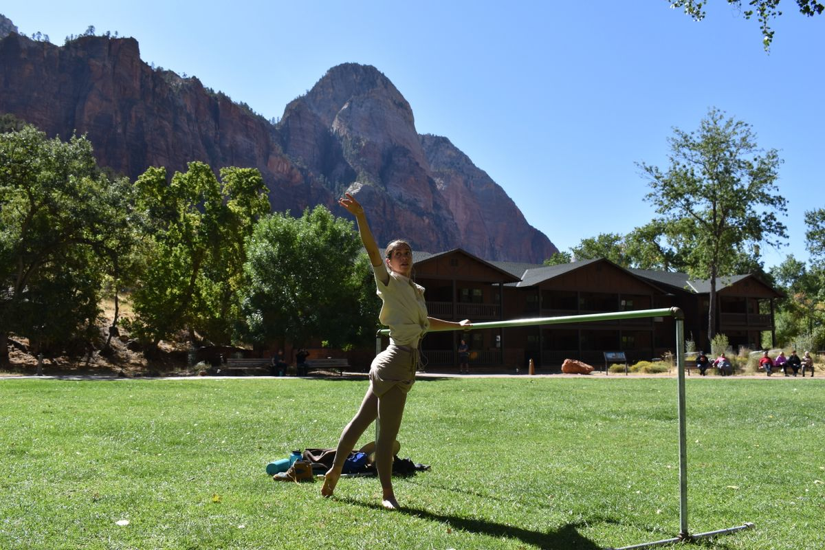 This Dancer Spent a Month in Zion National Park as an Artist in Residence