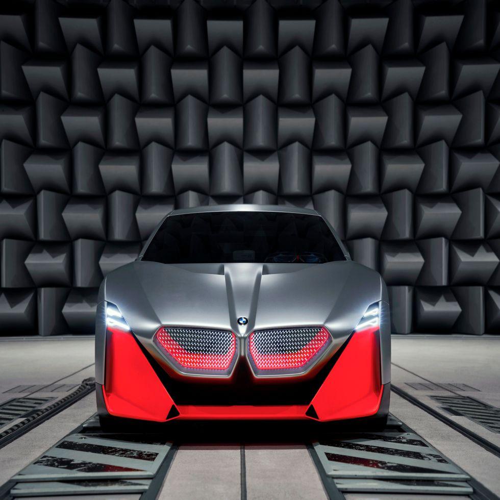 BMW Vision M NEXT test facilities
