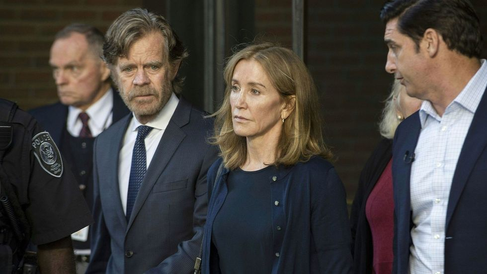 Felicity Huffman Won't Even Serve Her Full Slap-On-The-Wrist Sentence, And It Reeks Of White, Female Privilege