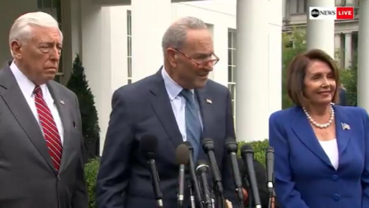 Dem leaders walk out of White House meeting, say President Trump called Pelosi a 'nasty diatribe'