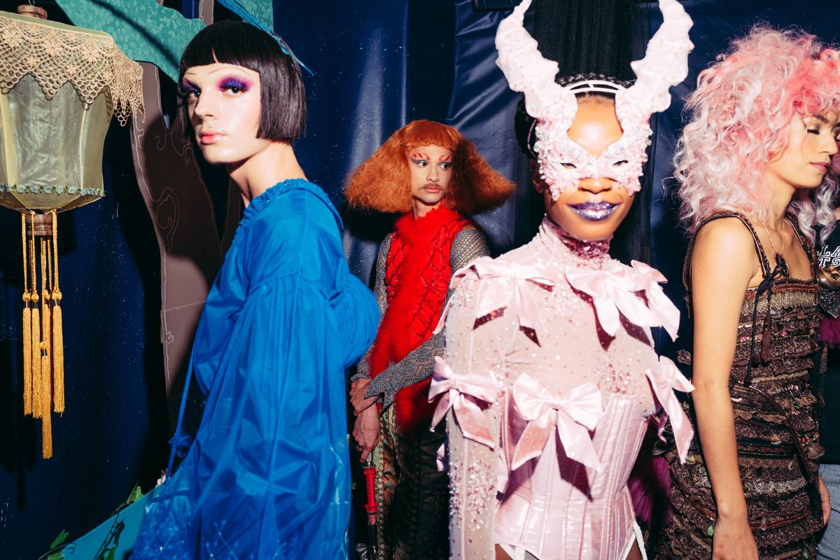Inside Wiederhoeft's Debut 'Spooky Couture' Collection