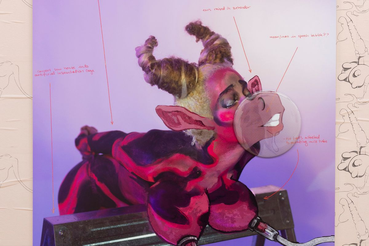 Juliana Huxtable's Bold New Work Shows Bodies as Alternate Species