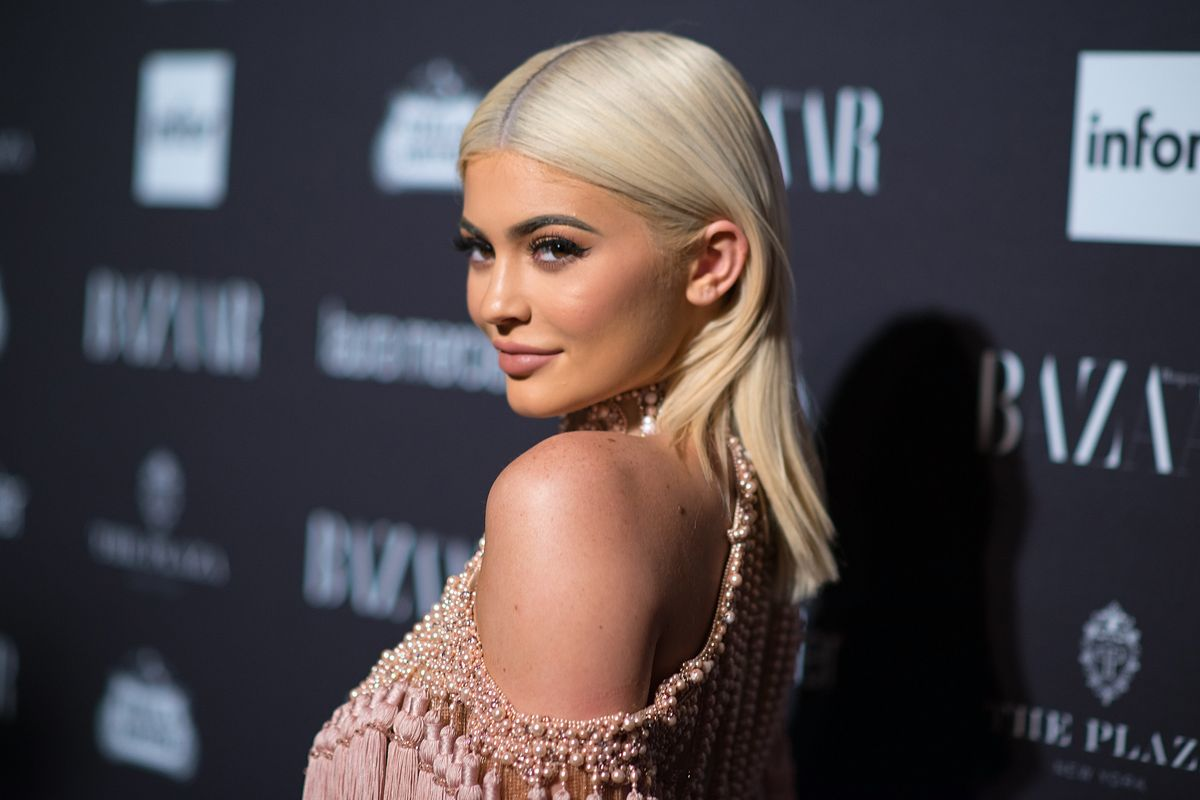 Kylie Jenner Promotes Kylie Skin With 'Rise and Shine'