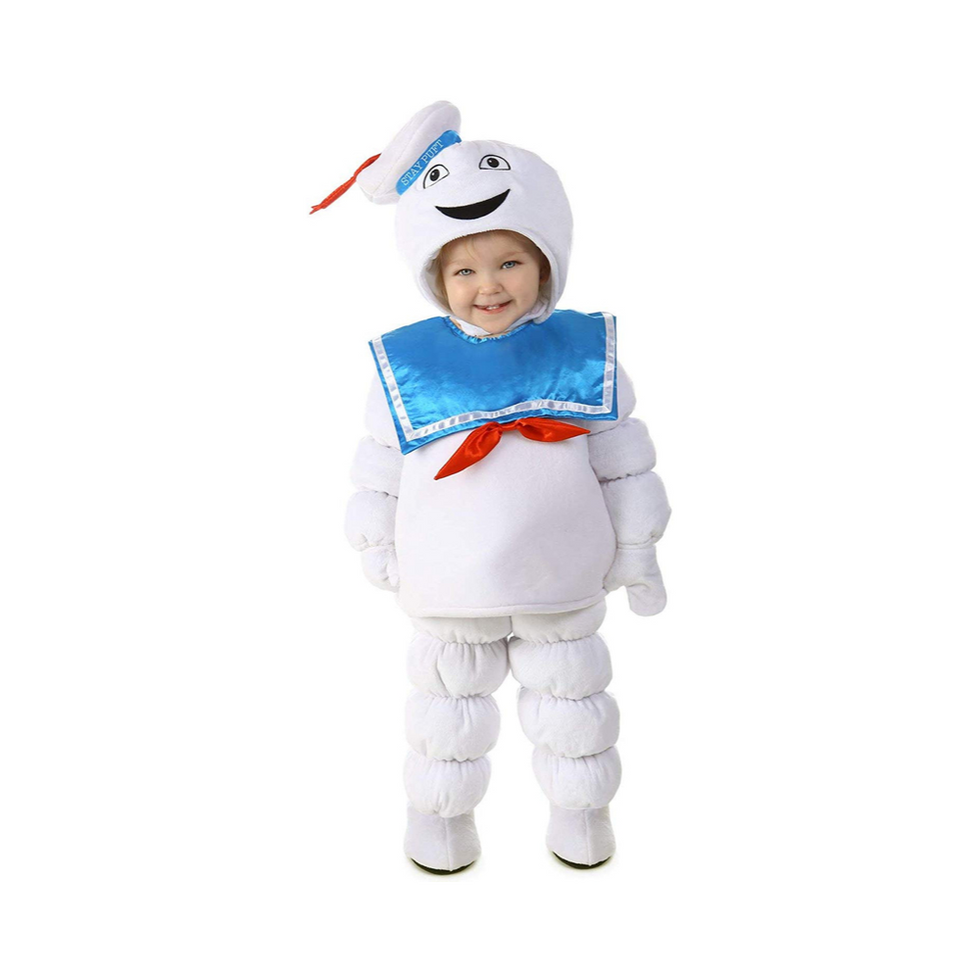 Princess Paradise Baby Boys Ghostbusters Stay Puft, White/Blue, X-Small