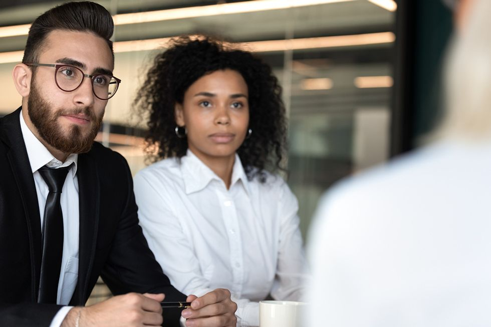 Employer picking up on red flags in potential job candidate
