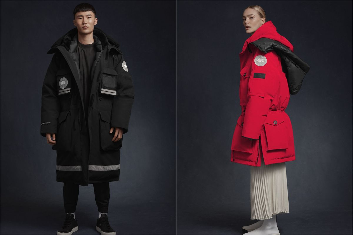 Canada Goose Launches Oversized Unisex Parkas With Juun.J