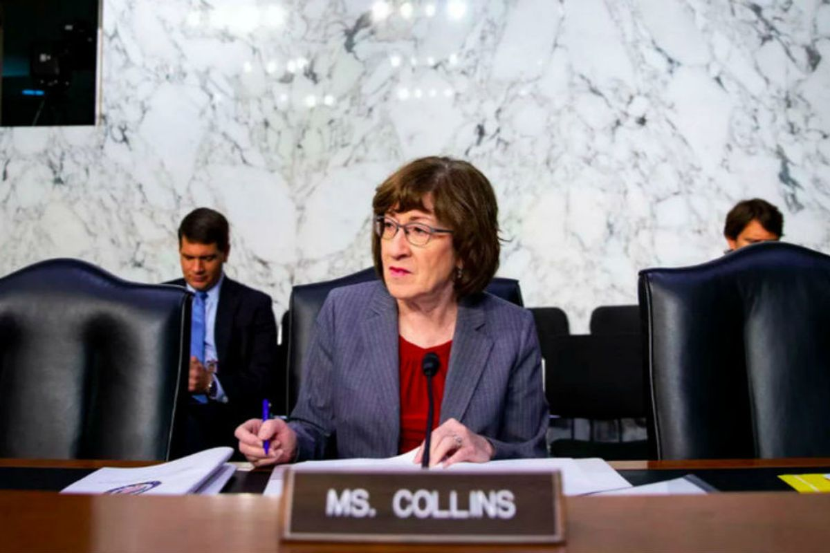 A 'rude' encounter between Susan Collins and one voter might just end the Republican's career
