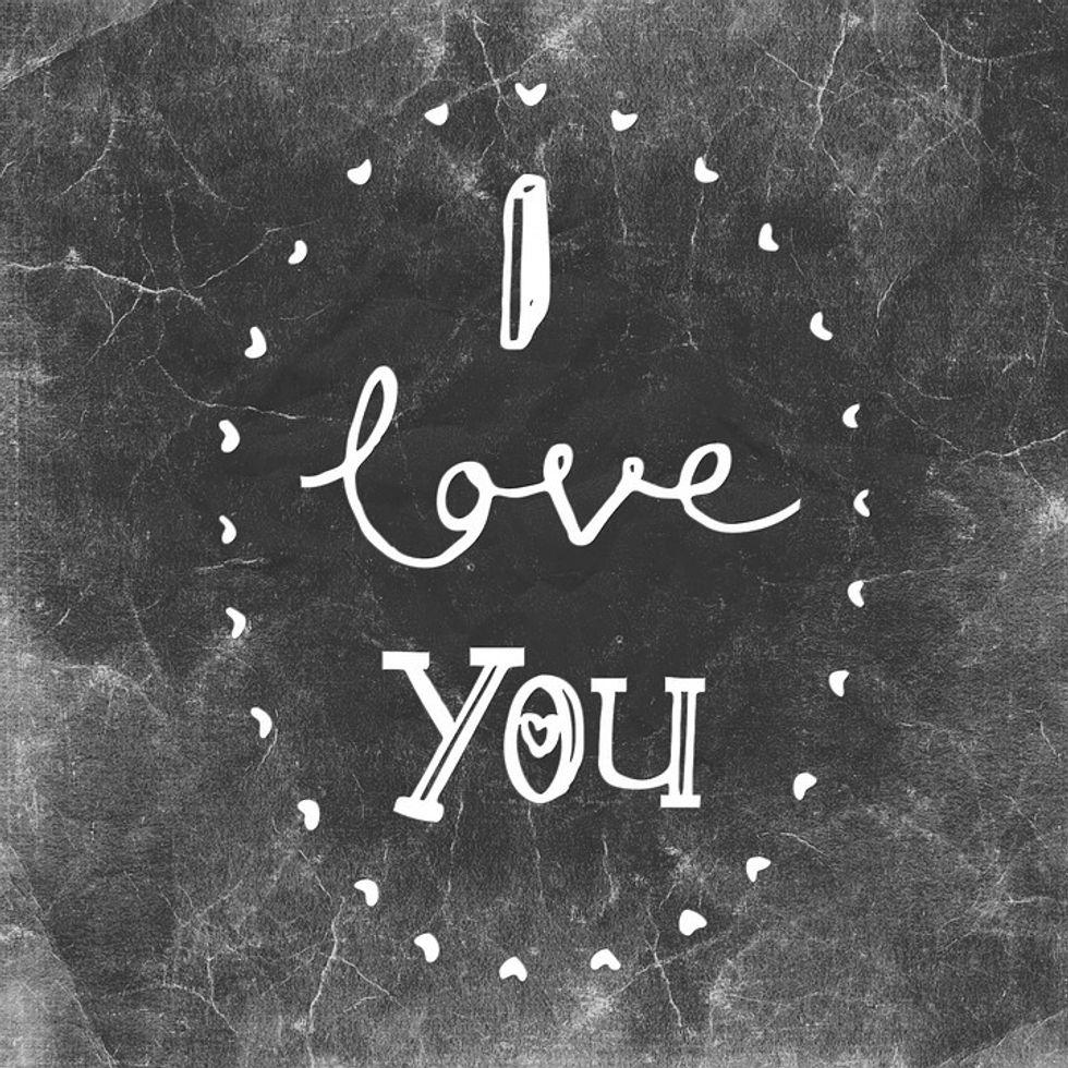 "I Will Always Say ""I Love You"" Before I Go"