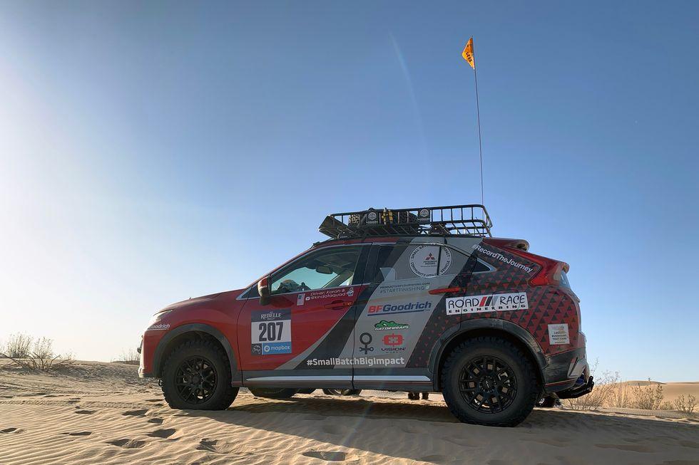 2019 Rebelle Rally Mitsubishi Eclipse Cross