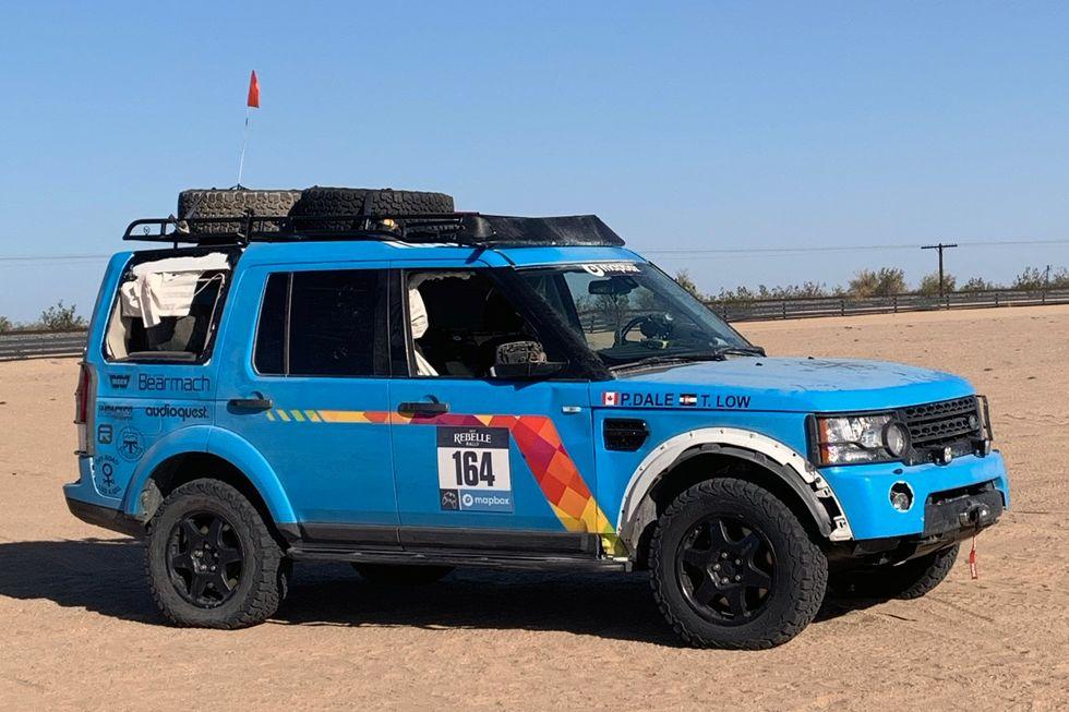 2019 Rebelle Rally Land Rover LR4