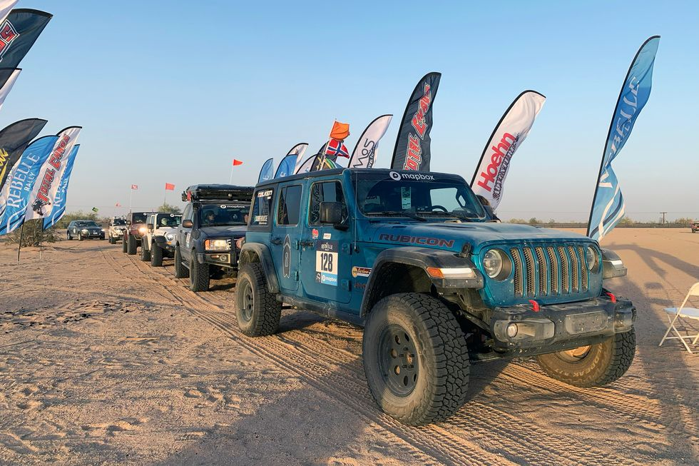 2019 Rebelle Rally End Day Stage Glamis