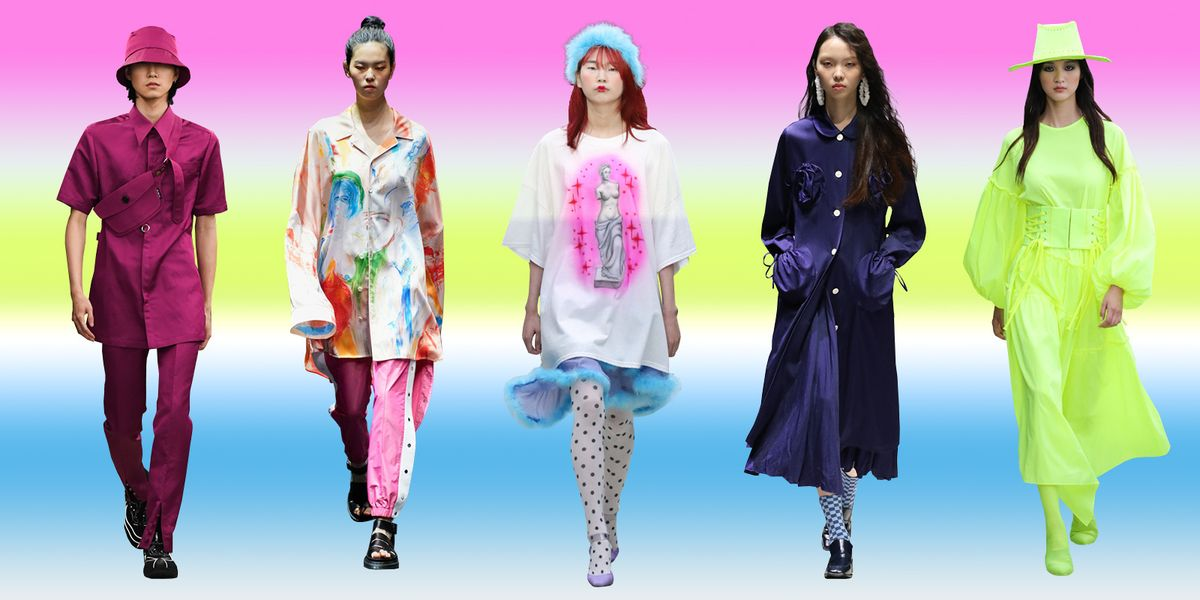 Seoul Fashion Week Was All About In-Your-Face Brights And Oversized Silhouettes