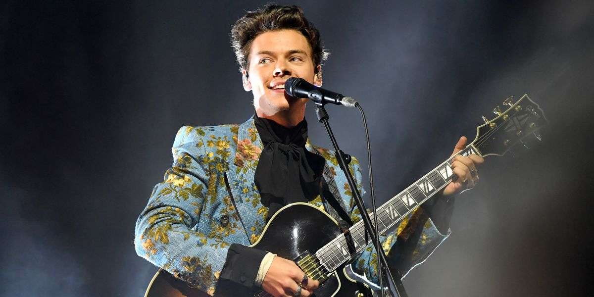 Harry Styles Cryogenically Freezes All His Outfits
