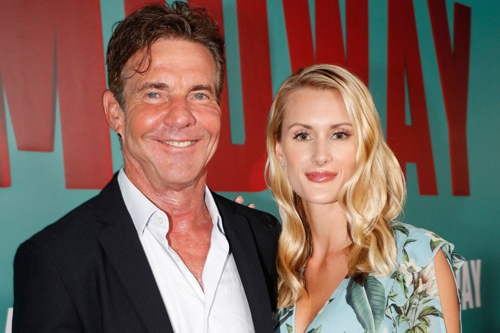 Dennis Quaid Just Got Engaged To A 26-Year-Old Meredith Blake Clone And TBH It Should've Been Me