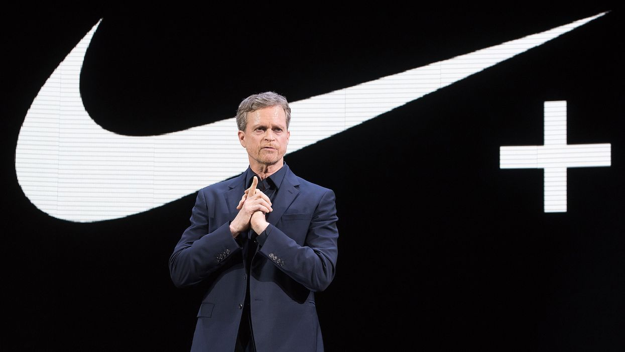 Nike CEO who oversaw controversial Kaepernick ad campaign is stepping down