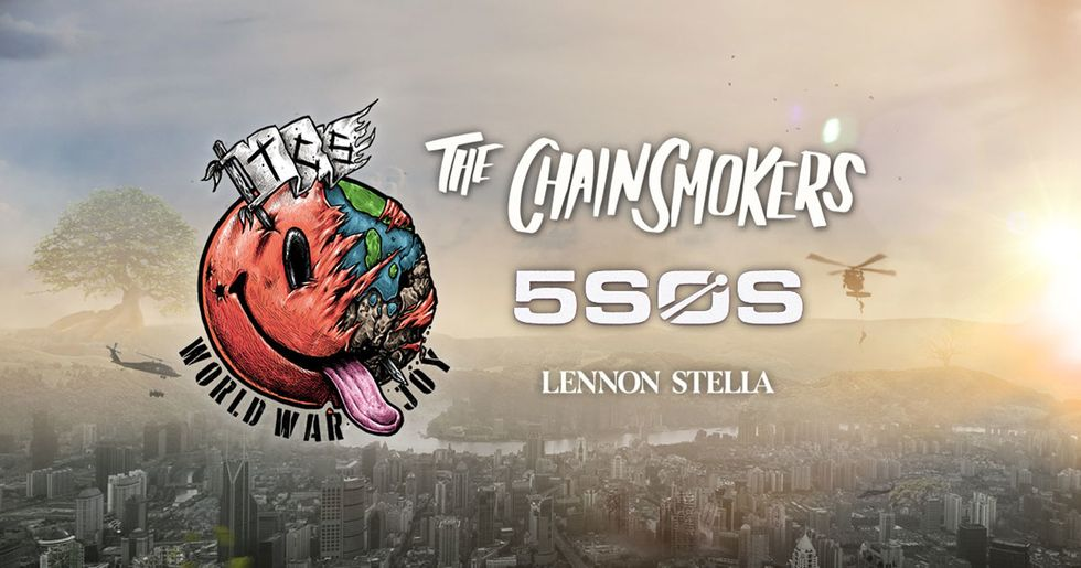 Concert Review: The Chainsmokers, 5SOS, and Lennon Stella