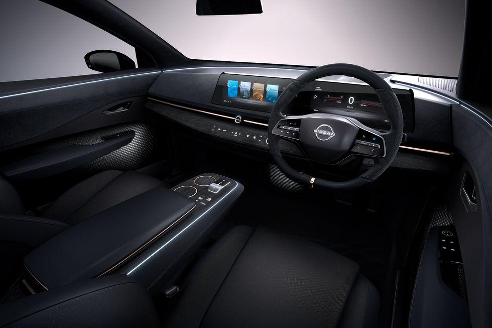 Nissan Ariya Concept inteiror cabin