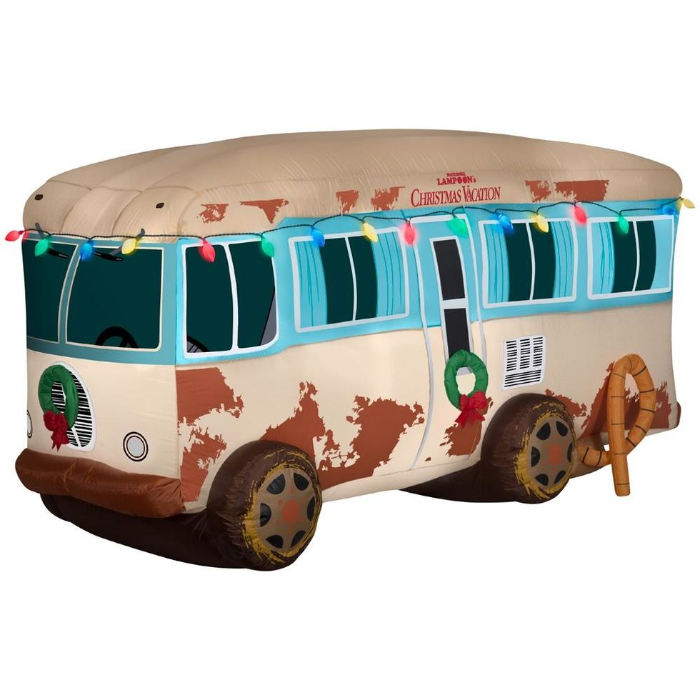 Christmas Vacation Rv.This Inflatable Christmas Vacation Rv Is Peak Holiday Yard