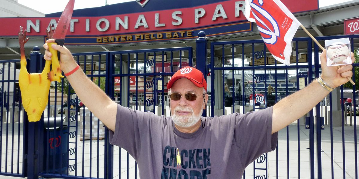 """EPA by day, """"Chicken Man"""" at the ballpark by night"""