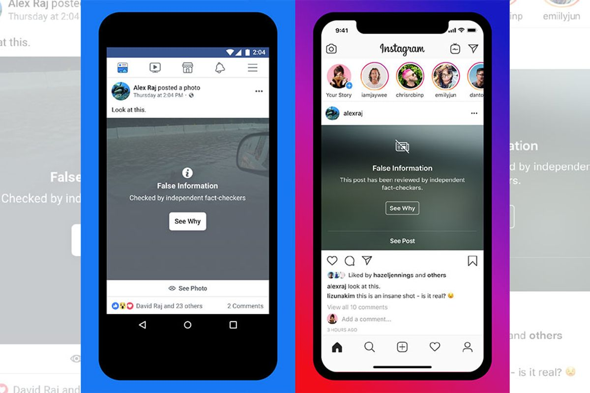 Instagram will now let you know if something is fake news