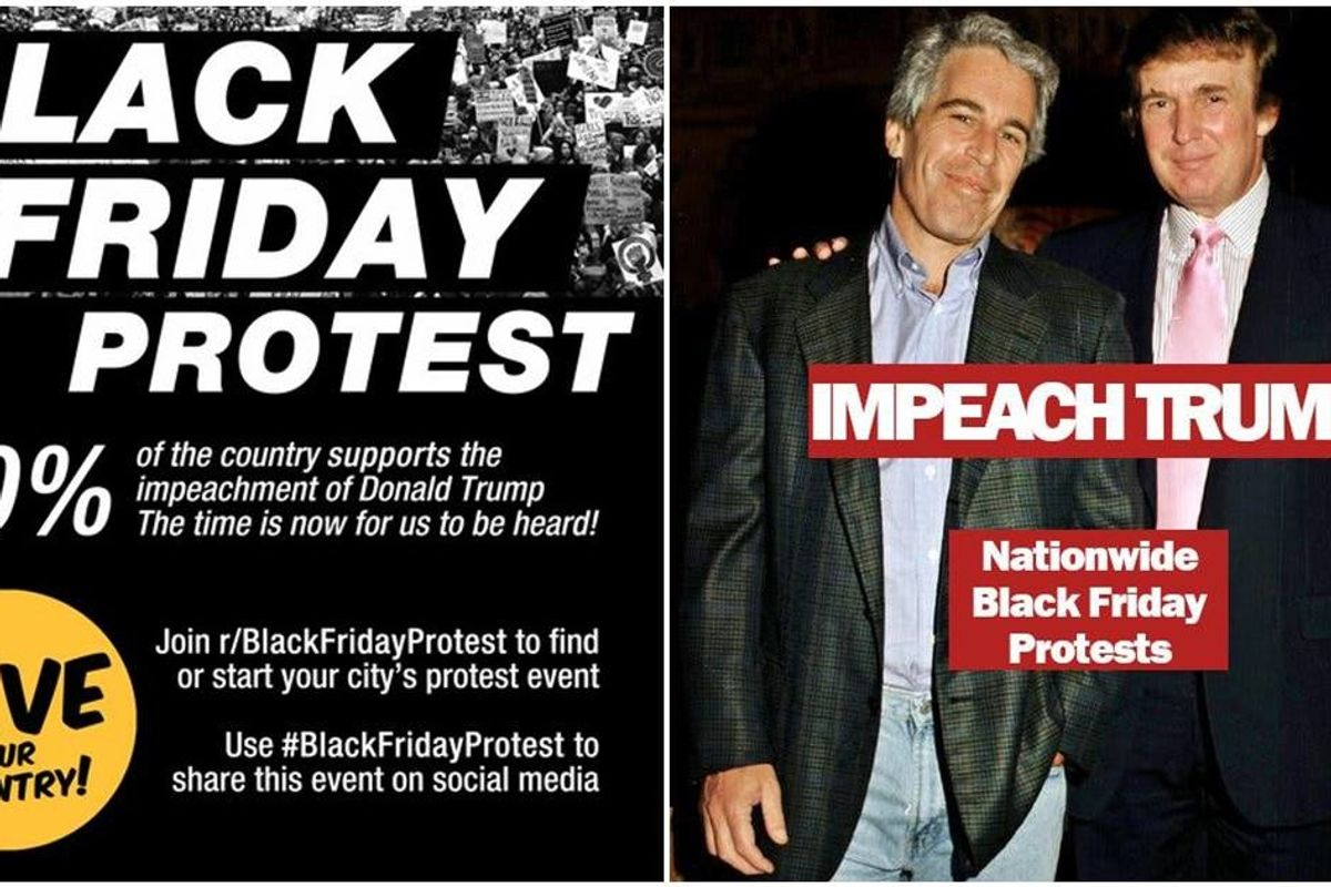 A massive Black Friday protest against Trump is gaining steam. Meet the veteran who started it.