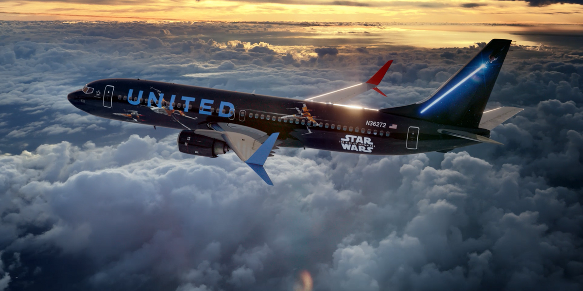Fly The Friendly Galaxy United Airlines Joins Forces With Star Wars The Rise Of Skywalker To Offer Customers Unforgettable Star Wars Experiences United Hub